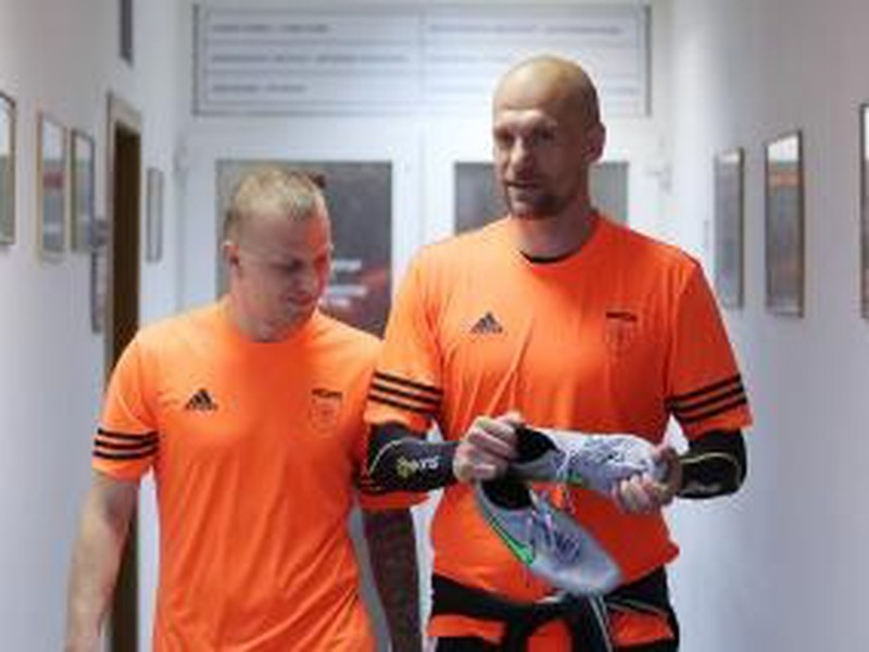 Marek Sapara a Martin Jakubko