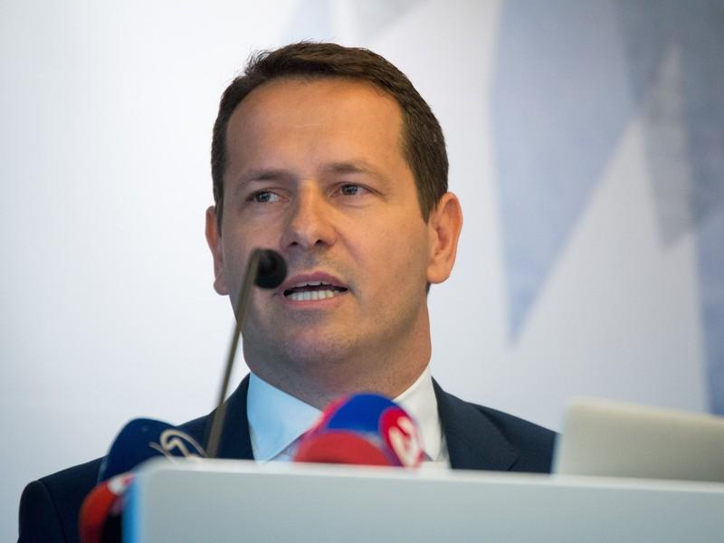 Kandidát na prezidenta Slovenského zväzu ľadového hokeja Martin Kohút