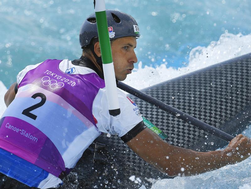 Matej Beňuš počas kvalifikácie