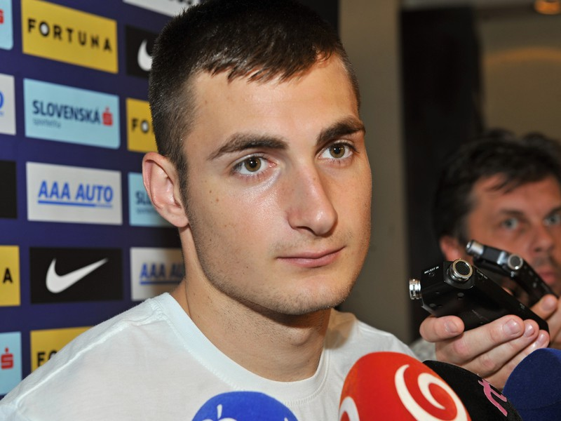 Futbalový reprezentant Matúš Bero