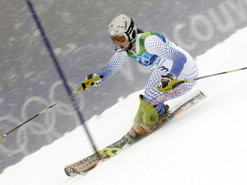 Alpská lyžiarka Jana Gantnerová