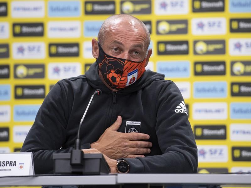Tréner Ružomberka Ján Haspra