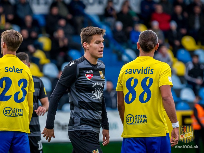 Futbalistom FC DAC Dunajská Streda absolútne nevyšiel duel 16. kola Fortuna ligy v Michalovciach