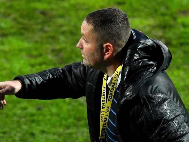 Tréner MFK Zemplín Michalovce Jozef Majoroš