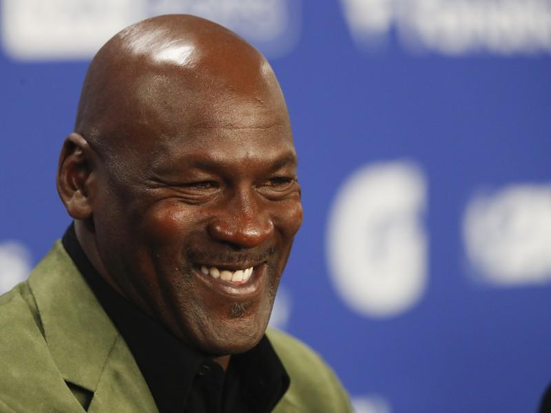 Bývalá hviezda NBA Michael Jordan
