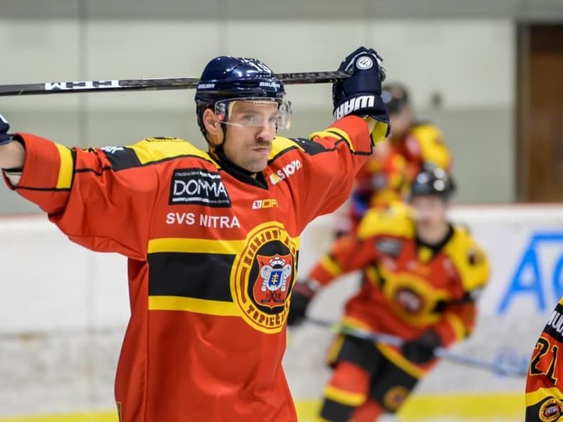 Michel Miklík v drese HC Topoľčany