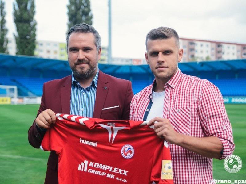 Milan Šimčák sa stal novou posilu tímu FK Senica