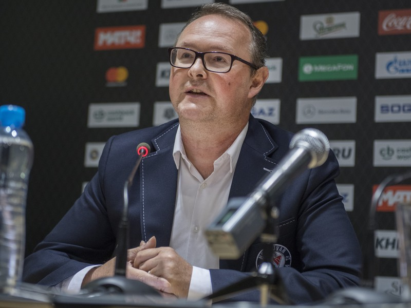 Marketingový riaditeľ HC Slovan Bratislava Milan Vajda