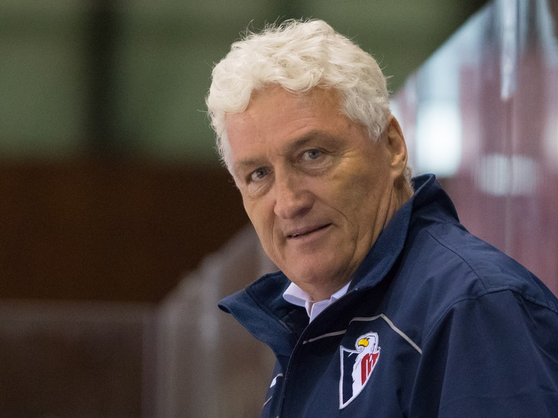 Tréner Slovana Miloš Říha