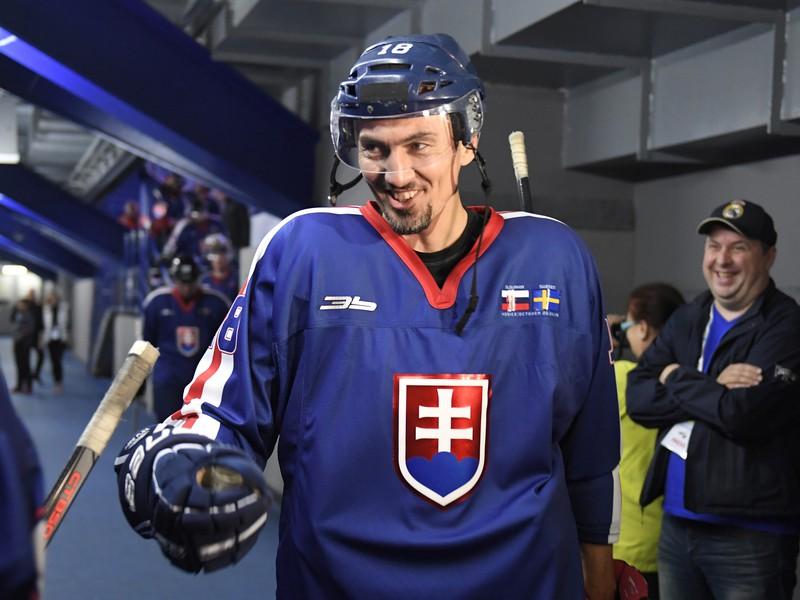 Na snímke bývalý slovenský reprezentant v hokeji Miroslav Šatan