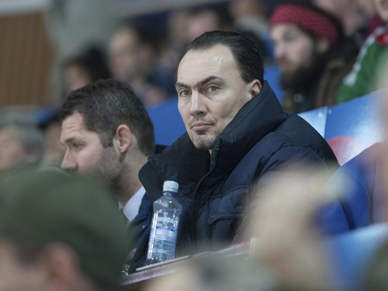 Miroslav Šatan v hľadisku