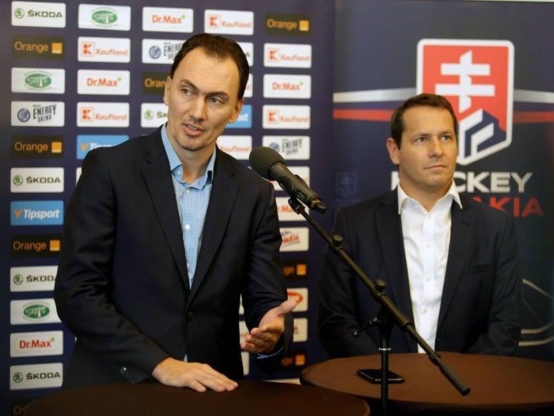Miroslav Šatan a Martin Kohút