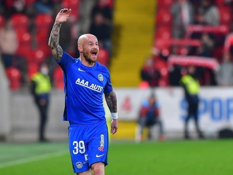 Miroslav Stoch v drese FC Slovan Liberec