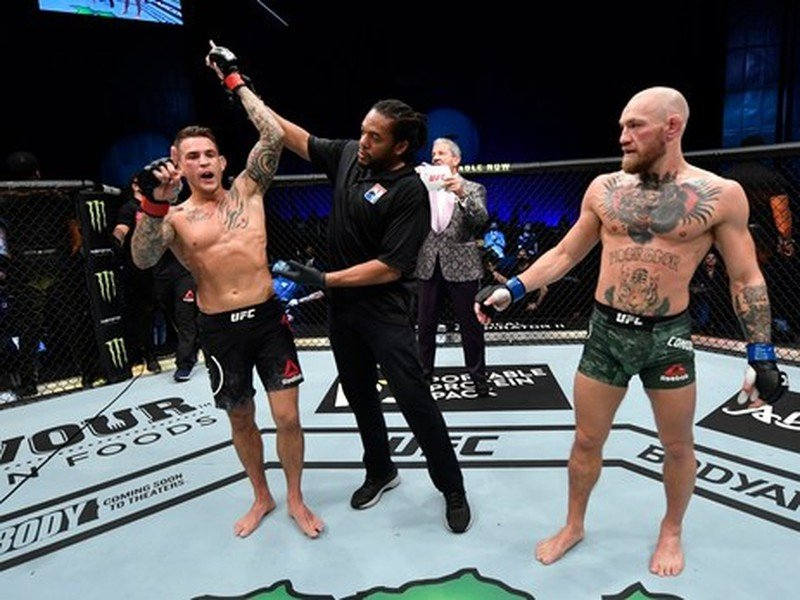 Dustin Poirier a Conor McGregor