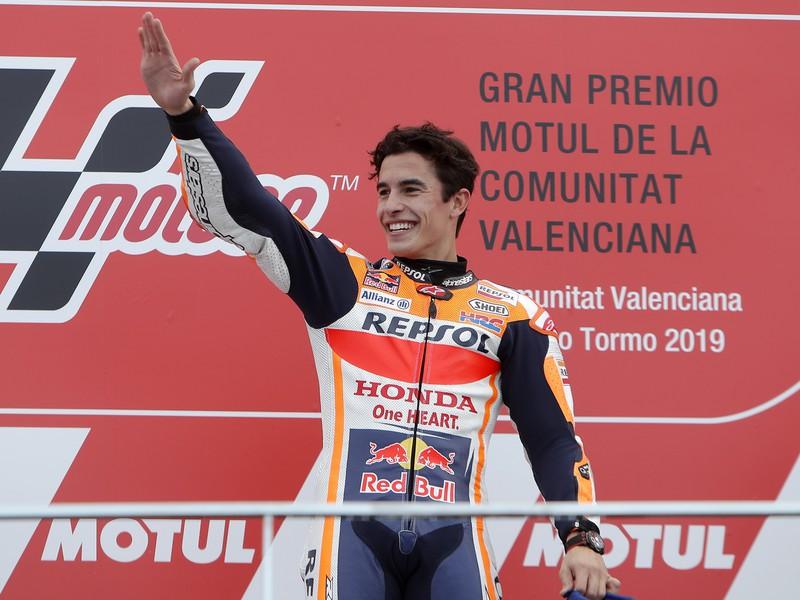Španielsky motocyklový jazdec Marc Márquez