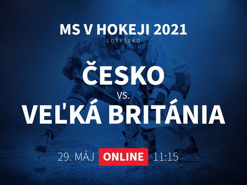 MS v hokeji 2021: Česko - Veľká Británia