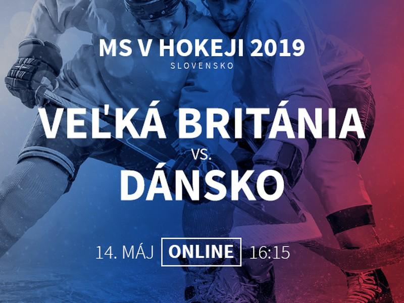 MS v hokeji: Veľká Británia - Dánsko