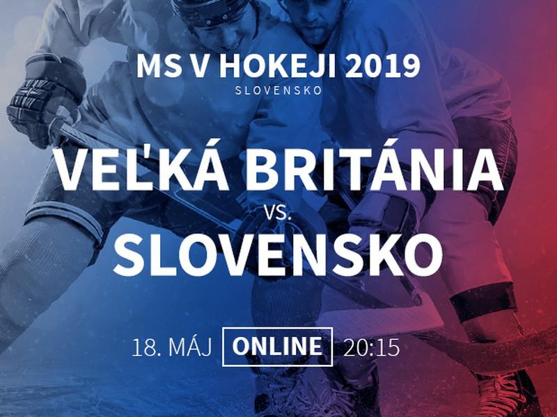 MS v hokeji: Veľká Británia - Slovensko