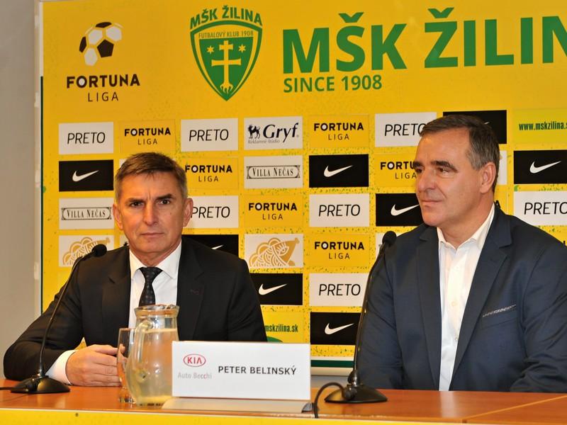 Majiteľ MŠK Žilina Jozef Antošík