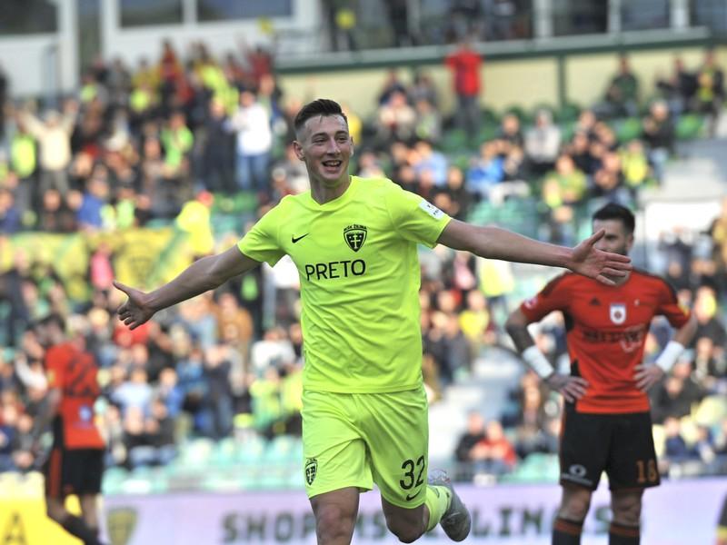 Róbert Boženík a jeho gólové oslavy
