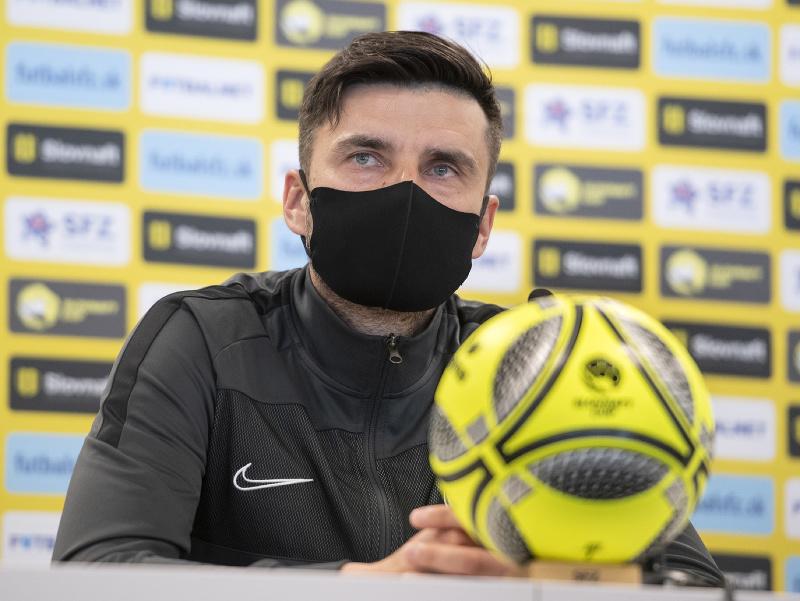 Tréner MŠK Žilina Pavol Staňo pred pohárovým finále
