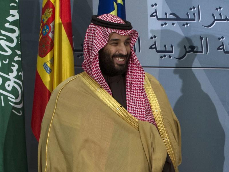Saudskoarabský korunný princ Muhammad bin Salmán