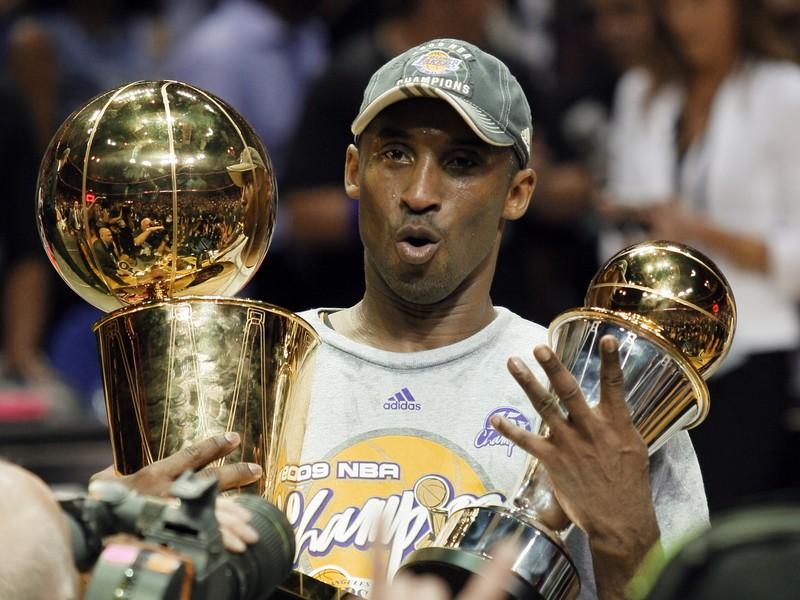 Kobe Bryant po zisku štvrtého titulu v júni 2009
