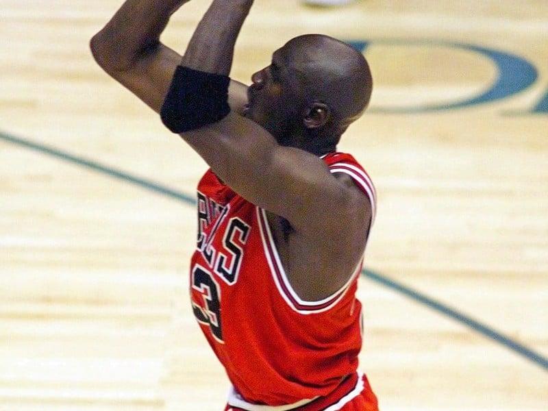 Michael Jordan ako hráč Chicaga Bulls