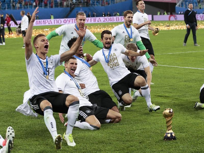 Oslavy hráčov Nemecka