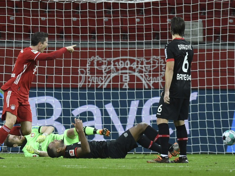 Robert Lewandowski a jeho gólové oslavy