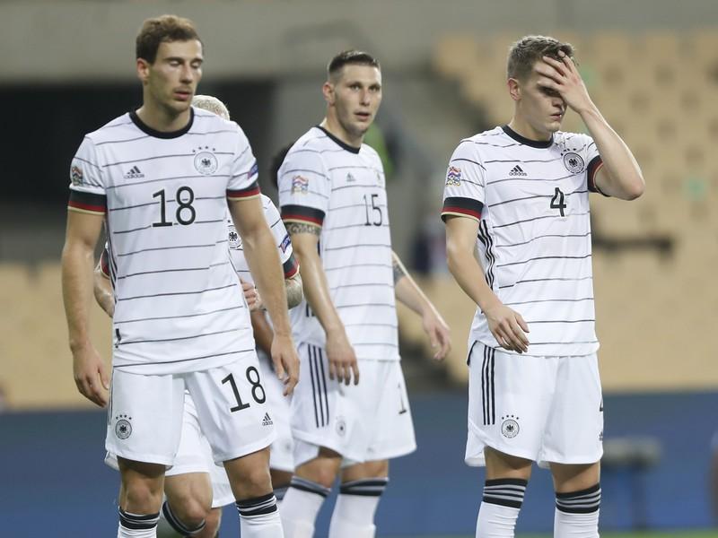 Sklamaní hráči Nemecka