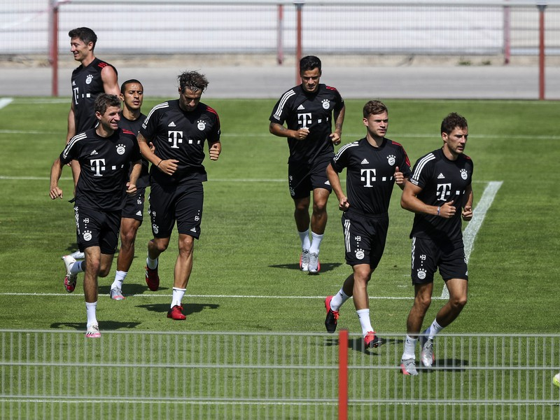 Tréning Bayernu