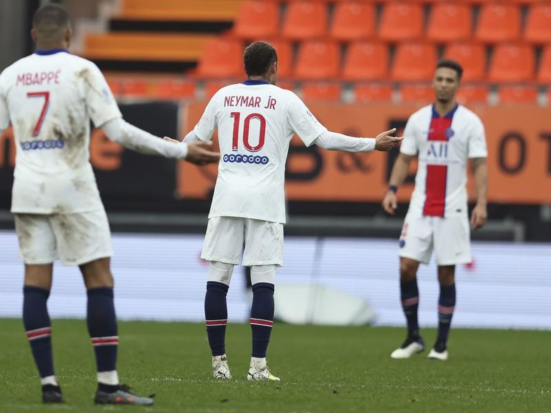 PSG senzačne nestačil na Lorient
