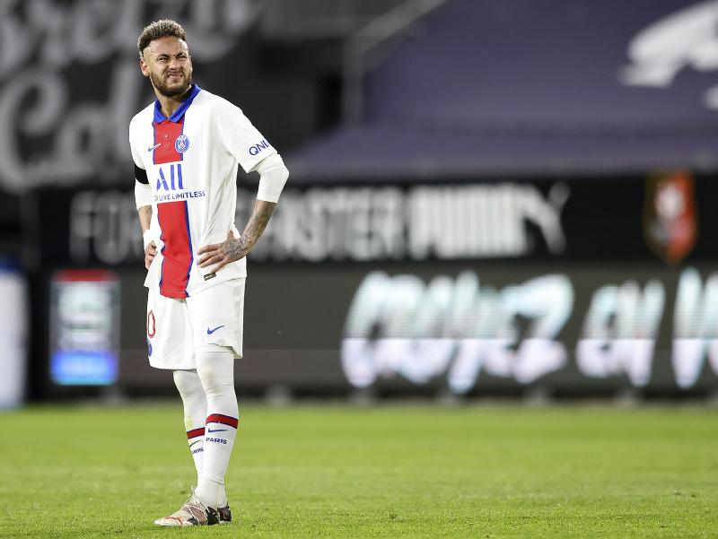 Frustrovaný Neymar