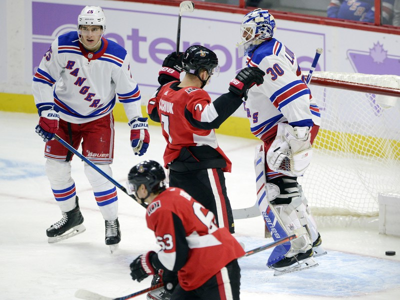 Ottawa zdolala New York Rangers