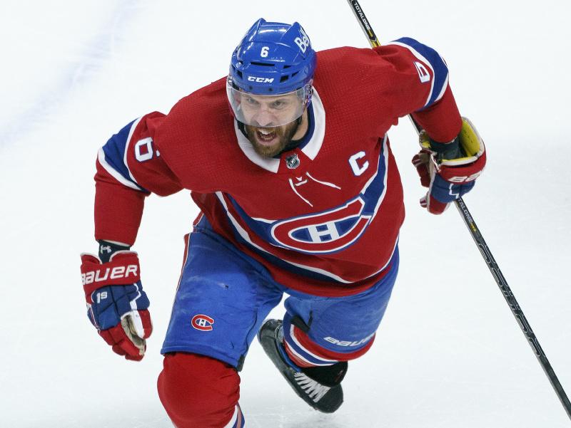 Kapitán Montrealu Canadiens Shea Weber