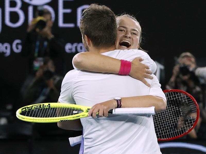 Barbora Krejčíková a Nikola Mektic víťazmi zmiešanej štvorhry na Australian Open 2020