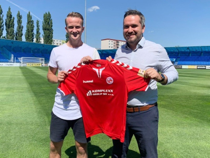 Islanďan Nói Ólafsson hráčom FK Senica