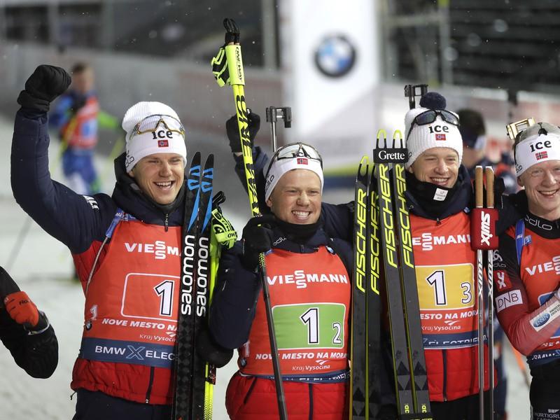 Nórska štafeta s ďalším víťazstvom