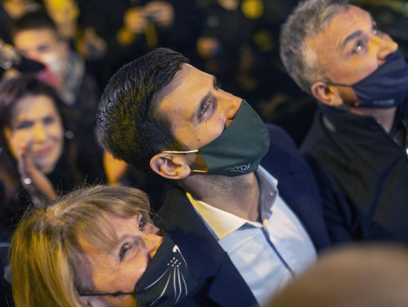 Novak Djokovič si v Belehrade vychutnával s fanúšikmi oslavy rekordu