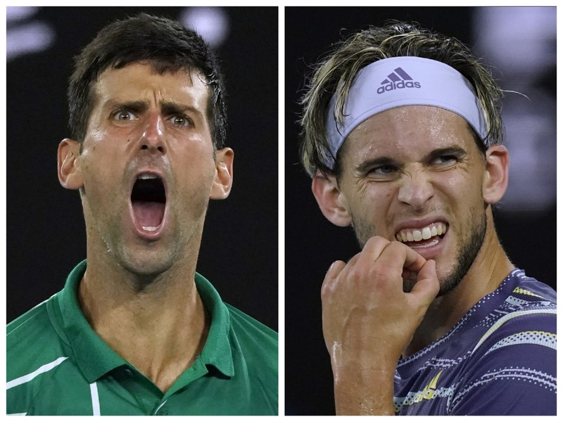 Novak Djokovič sa vo finále Australian Open postaví proti Dominicovi Thiemovi