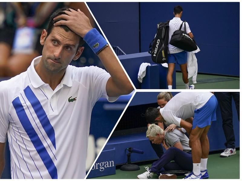 Novaka Djokoviča diskvalifikovali z grandslamového turnaja US Open