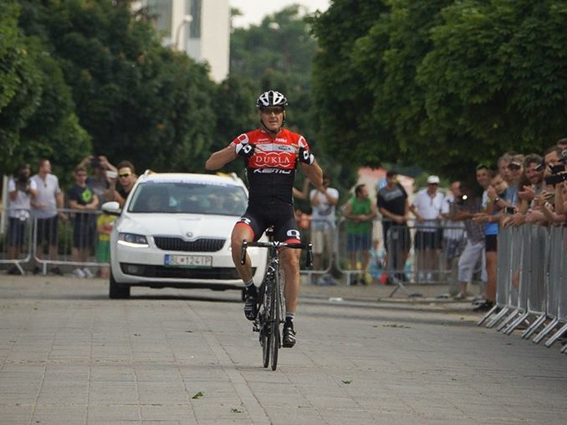 Maroš Kováč po triumfe v 4. etape Okolo Slovenska