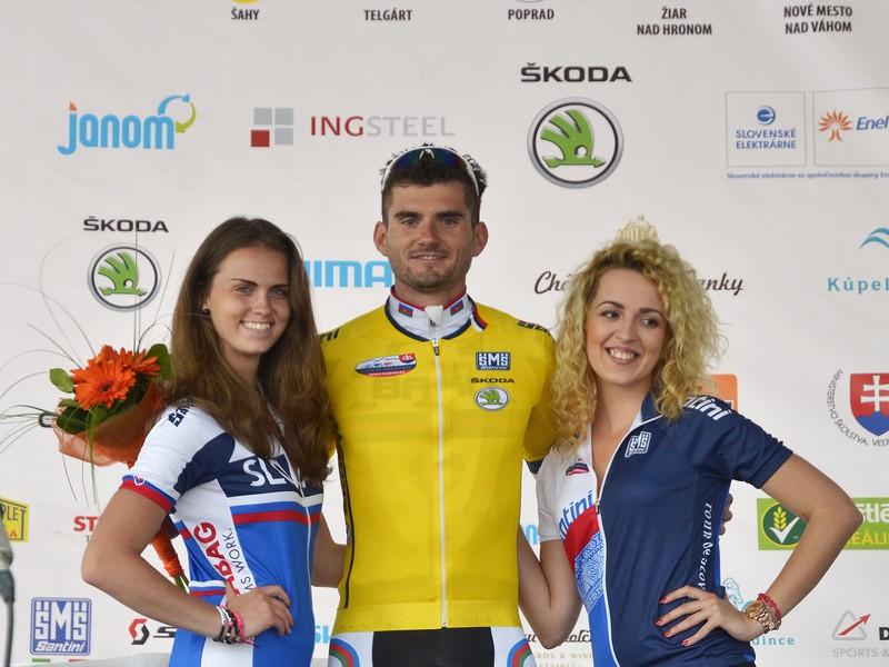 Líder bodovacej súťaže a víťaz 2. etapy: Telgárt - Poprad 158,6 km Maxim Averin