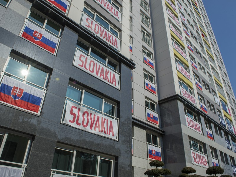 Ubytovanie slovenských olympionikov