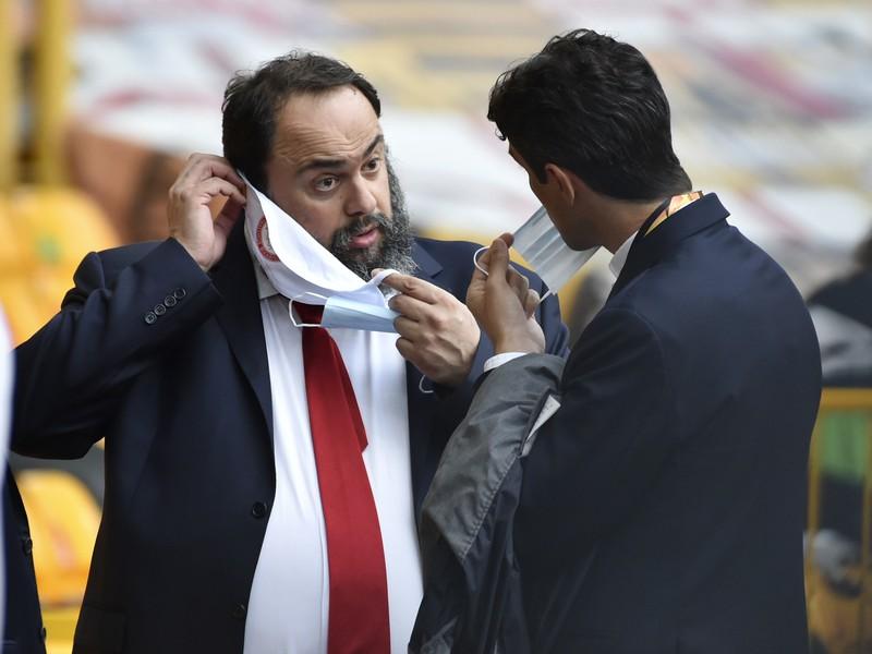 Evangelos Marinakis - majiteľ Olympiakosu Pireus