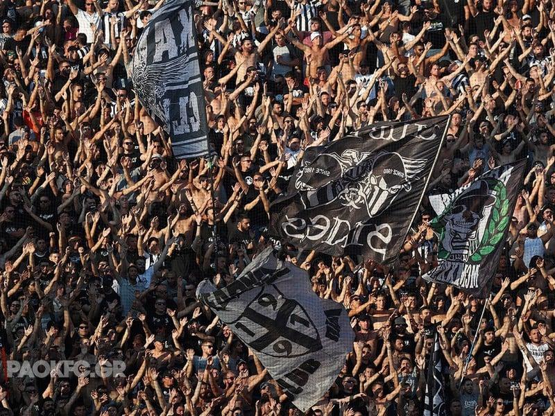 Fanúšikovia PAOK Solún (Ilustračné foto)