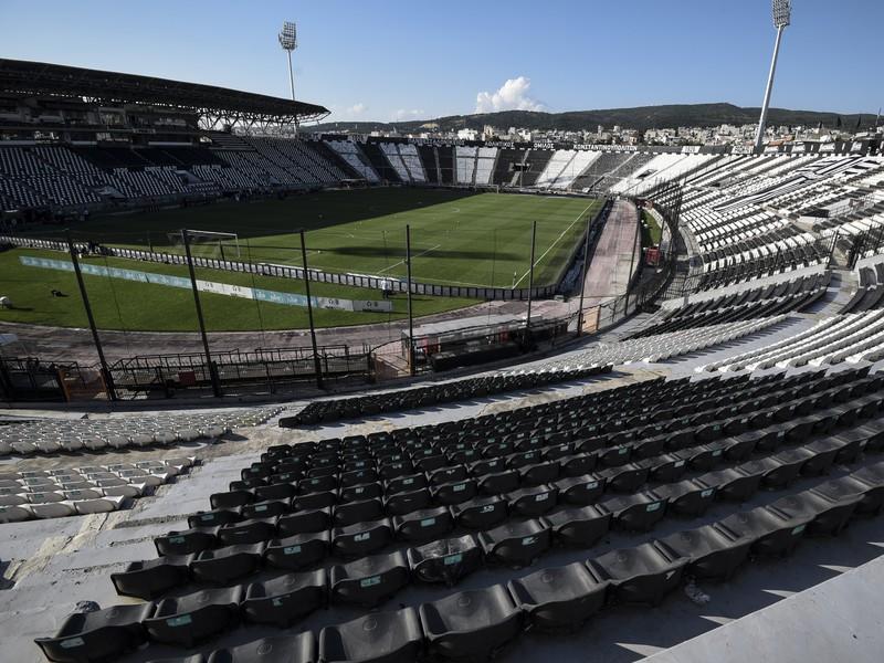 Štadión Touba - domovský stánok tímu PAOK Solún