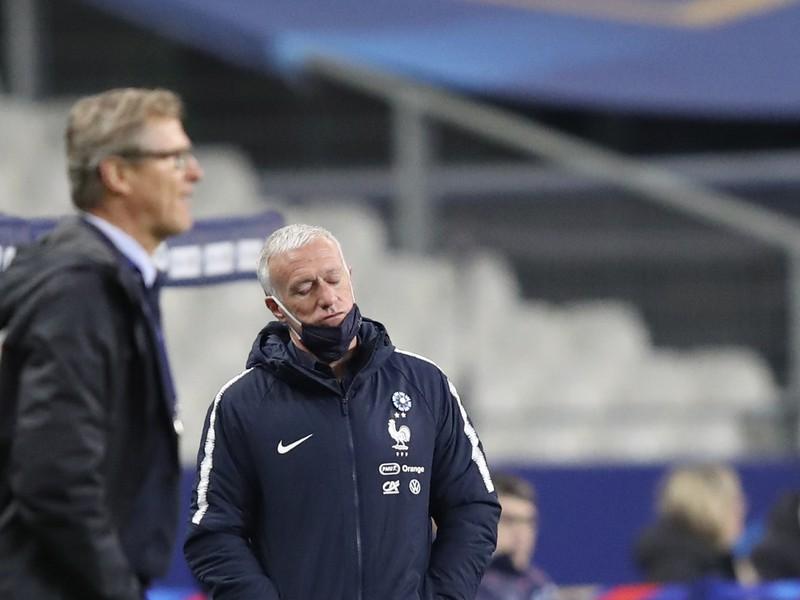 Didier Deschamps a Markku Kanerva