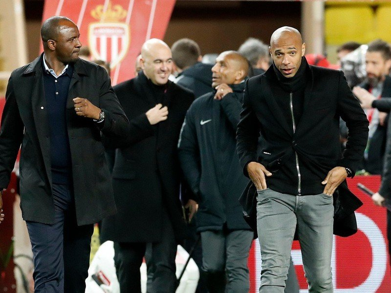 Patrick Vieira a Thierry Henry